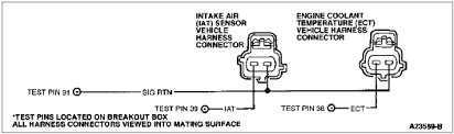 mustang matt s guide to the 03 04 terminator swap just extend two of the four wires 03 04 pin 37 to 1998 pin 39 and 03 04 pin 91 to 1998 pin 91 below are 03 04 iat2 and 96 98 iat wiring diagrams