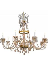 large impressive antique waterford chandelier