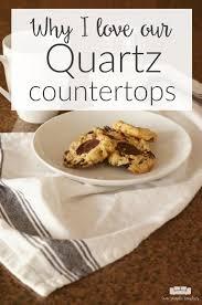 should you choose quartz countertops here are three reasons why i love our quartz countertops