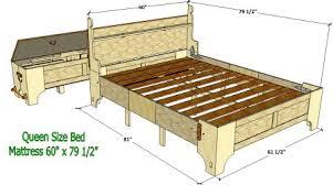 bed in a box plans. Queen Bed-in-a-Box Bed In A Box Plans O