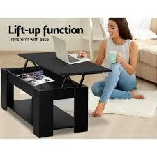 artiss lift up top mechanical coffee table