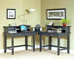 home office furniture for two. 2 Person Office Desk Furniture Two Corner Beautiful Double In Home For