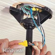 how to install ceiling fans family handyman Switch Loop Wiring Ceiling Fan how to install ceiling fans switch loop ceiling fan wiring