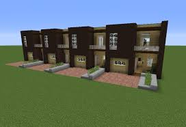 minecraft modern fence designs. Modern Terraced House 1 Minecraft Fence Designs E