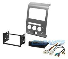nissan armada radio parts accessories car stereo radio kit dash installation mounting trim bezel w bose wire harness fits