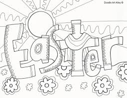 Printable Coloring Pages For Kids 25 Religious Easter Coloring Pages