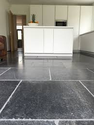 Kitchen Floor Stone Tiles Blue Stone Floor Tiles Aged And Tumbled Finish With Stunning