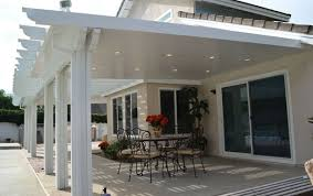 this insulated aluminum patio cover kit