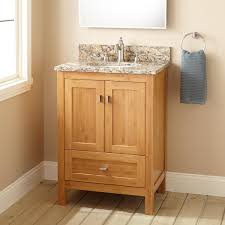 Bamboo Bathroom Sink 24 Narrow Depth Alcott Bamboo Vanity For Undermount Sink Bathroom