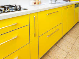 Yellow Kitchen Kitchen Cabinet Colors And Finishes Pictures Options Tips