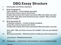 dbq example example of an informal essay informal letter essay dbq essay thesis huanyii com