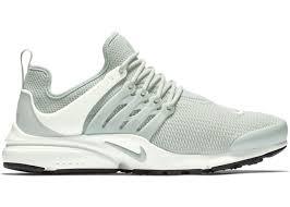 Nike Presto Light Green Air Presto Light Silver W