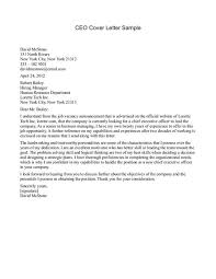 New Senior Executive Cover Letter Examples 15 For Resume Cover Ideas