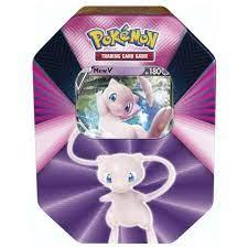 Kräfte Tin Box 87 | Mew-V | Pokemon | Sammelkarten-Spiel | Trading Cards |  Kinderspieleland Spielwaren und Lizenzartikel für Kinder