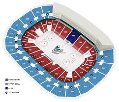 Mavs Arena Seating Chart Select A Seat Intrust Bank Arena Wichita Ks