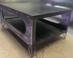 metal industrial furniture. Gunmetal Finish Industrial Coffee Table #029 \u2022 Style Furniture By Evolution Co Metal F
