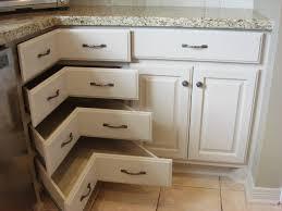 Corner cabinet traditional-kitchen
