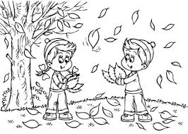 Kindergarten Fall Coloring Pages 4 Free Printable For At