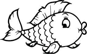 Coloring Page Of Fish Coloring Page Fish New Kids Printable Rainbow