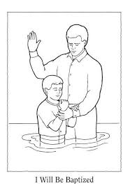 Small Picture LDS Baptism Coloring Pages view original image Primary