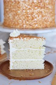 The Best Coconut Cream Cake Cake By Courtney