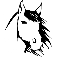 horse face drawing front. Perfect Face Horse Face Front View Sketch Free Icon In Face Drawing Front