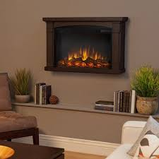 real flame brighton slim line wall hung electric fireplace chestnut oak