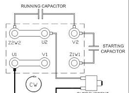 start capacitor wiring diagram wiring diagram what is a capacitor start run motor its phasor source air conditioner pressor wiring diagram wire
