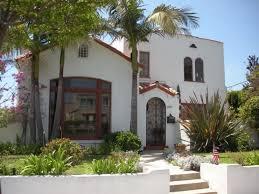 Marvelous Stylish Spanish Style Beach House With Palm Trees