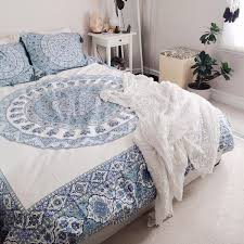 magical thinking temple medallion duvet cover urban outers