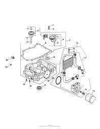 Kohler engine oil pan lubrication
