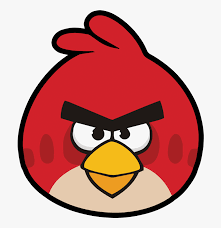 Red Bird From Angry Birds , Free Transparent Clipart - ClipartKey