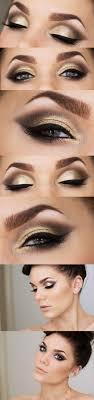 gold eyeshadow makeup ideas