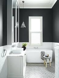 black bathroom walls wall design ideas bathroom wall color white wall tiles pendant lamp side table
