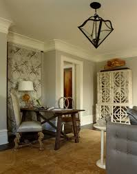 modern baseboard molding home office traditional with armoire crown molding dark animal hide rugs home office traditional