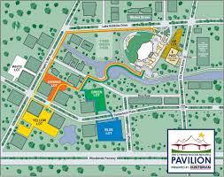 Pavilion Public Parking And Pathways Map Pavilion Green