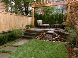 Patio Designs For Small Yards Small Yards Big Designs Small Backyard Landscaping