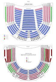 Jordan Hall Seating Chart The Handel And Haydn Society