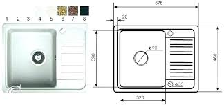 luxury design standard kitchen sink size bathroom sizes uk com dimensions for inspiring small c