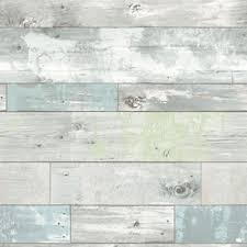 display reviews for 30 75 sq ft blue vinyl wood l and stick wallpaper
