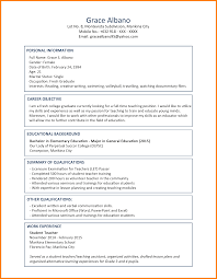 Resume Sample For Nurses Fresh Graduate Resume Ixiplay Free