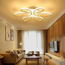 HOUDES <b>Modern Led</b> Chandelier Lighting Ceiling Light Fixture ...