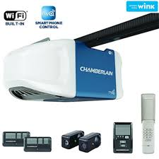 chamberlain 3 4 hp smartphone controlled ultra quiet and strong belt drive garage door opener with plus lifting power b750 the home depot