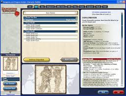 dungeons and dragons character sheet online digital d d a brief history the fodder cannon