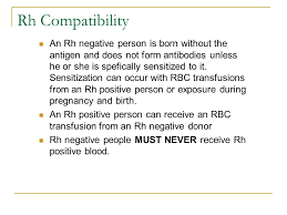 Rh Incompatibility Chart Blood Administration Nrs 108 Essec County College Majuvy L