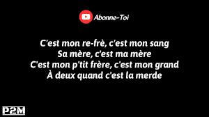 Rk Cest Mon Sang Feat Sofiane Parolelyrics