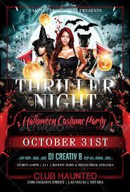 Free Halloween Costume Contest Flyer Template Afefa