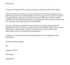employee warning letter how to write