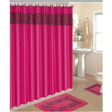 pink shower curtains. Hot Pink Shower Curtain Curtains A