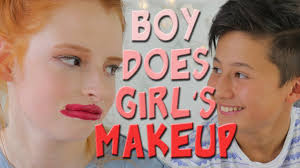boy does s makeup routine badly fail funny video nilipod